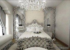 Exceptional Silver Bedroom Decor 1 Pink And Silver Bedroom Ideas Beautiful Pink Decoration Silver Bedroom, Glam Bedroom, Modern Bedroom, Master Bedroom, Bedroom Decor, Bedroom Ideas, Fancy Bedroom, White Bedrooms, Budget Bedroom