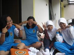 Have fun with my friends when i was on junior high school, i miss all of them:(