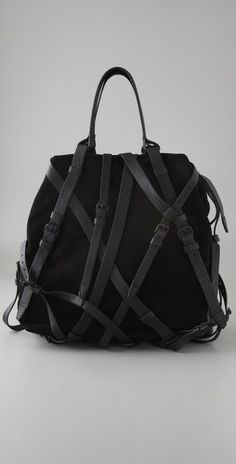 I'd love just one really great bag...this would be it if it were brown and priced for the working class.