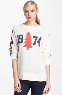 Wildfox '1974 Nantucket' Sweatshirt available at #Nordstrom
