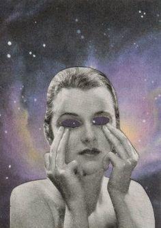 Original Collage - Starry Eyes | dadadreams | Flickr