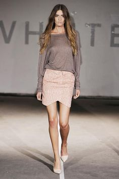 Whiite S/S '13 show