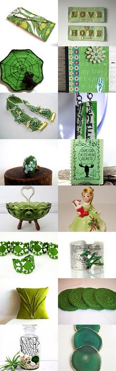 Green days by the river by Kira on Etsy--Pinned with TreasuryPin.com