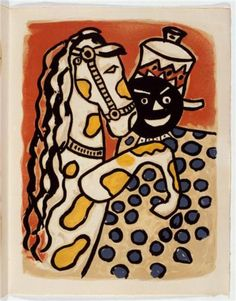 """Circus"" - Fernand Léger.  Art Experience NYC  www.artexperiencenyc.com/social_login/?utm_source=pinterest_medium=pins_content=pinterest_pins_campaign=pinterest_initial"