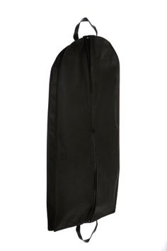 """Bags for LessTM Breathable Garment Bag with Handles 55"""". Size: 24"""" x 55 x 4"""". Made from Eco-Friendly 100% 75+ GSM Non Woven Polypropylene Recyclable material. Perfect for Fur and Leather Coats. Extra Pleat (Gusset) on the sides of the bag. These acid free bags will preserve freshness and prolong fabric life. Extra Pleat (Gusset) on the sides of the bag to enable you to put in several suits. Bags For Lesstm. Size of bag is 24"""" x 55 x 4"""". SPECIAL FEATURES: Bag has handles and can be..."""