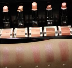 51 Inglot lipstick shades and swatches