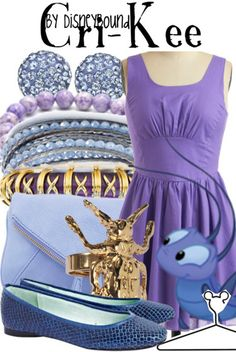 I love purple, and THAT DRESS.