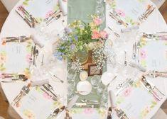 メニュー表や席札代わりにもなる!ゲストテーブルに敷きたい≪ランチョンマット≫のデザイン8選*