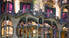 Antonio Gaudi's Casa Batllo Barcelona