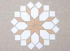 MessyJesse: English Paper Piecing Basics: Week 4 // Matching Shapes + Pattern