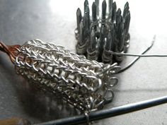 ▶ Viking Knit Chain Making - YouTube