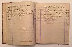 1876 1890's Hand Written Secretary's Diary Pacific Lodge Francistown NH Masonic | eBay