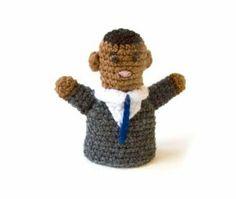 Barack Obama finger puppet