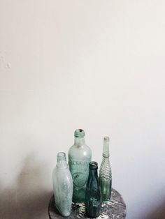Bottle collection / photo by Emilie Ristevski