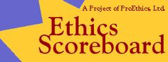 Ethics Scoreboard is a basic Rule Book that provides an outline for an Ethical Decision-Making model. This outline gives a brieft but detailed guide to the process of making Ethical Desicions as discussed in Chapter 5. (7027)