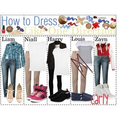 How to Dress; Like One Direction