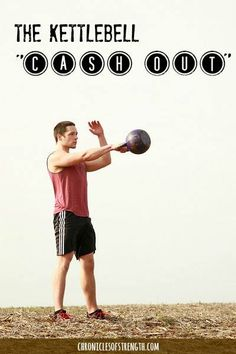 1 Quick and Dirty Kettlebell Cash Out Instead of a finisher we sometimes call it a cash out. You can call it a cash out, too, if you want, or you can call it a finisher; you could take a poll, or ask…