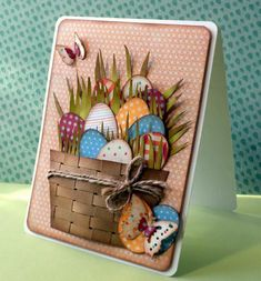 Happy Easter #card by Delusional1 at Splitcoaststampers