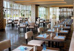 Dubai poolside dining