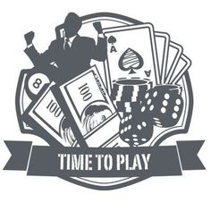 "Style and Apply Casino Wall Decal Size: 31"" H x 24"" W, Color: Silver"