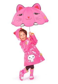 Kidorable Regenkleding - Lucky Cat karakter volledig@anno1939