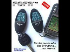 """For those of us that need a little help finding our keys, etc. Here's a helpful product """"Find One Find All."""""""