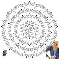 1 million+ Stunning Free Images to Use Anywhere Crochet Doily Diagram, Crochet Motif Patterns, Granny Square Crochet Pattern, Crochet Chart, Crochet Stitches, Form Crochet, Crochet Wool, Crochet Cushions, Crochet Round
