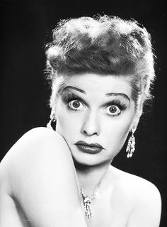The Ultimate Redhead, and one of the greatest comedienes ever—Lucille Ball, 1950