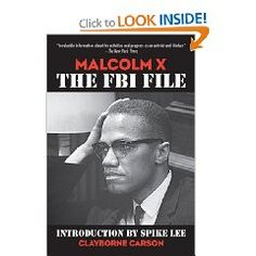 Just like the title says, a reassembling of Malcolm X's life through his FBI file.