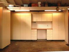 Plans lighting cabinets
