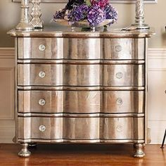 Google Image Result for http://eclecticrevisited.files.wordpress.com/2010/12/silver-leaf-dresser-chest-of-drawers-purple-accents-home-room-decor-ideas1.jpg%3Fw%3D791