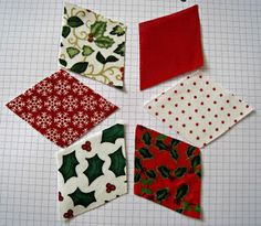 Rosmademe: Christmas Tutorials Start Here - Chris's Patchwork with Christmas Decorations Quilting 41083 Quilted Christmas Ornaments, Fabric Ornaments, Christmas Fun, Christmas Countdown, Christmas Skirt, Christmas Placemats, Christmas Pillow, Christmas Sewing Projects, Holiday Crafts