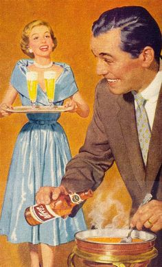 Schlitz is served… and it does wonders for your fondue as well!