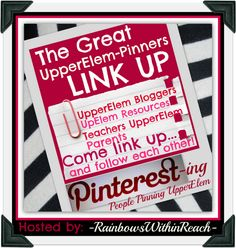 Ms. Fultz's Corner/check out these pinterest boards for upper elem