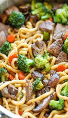 Beef Noodle Stir Fry