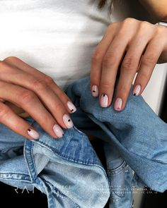 How to succeed in your manicure? - My Nails Orange Nail Designs, Short Nail Designs, Minimalist Nails, Stylish Nails, Trendy Nails, Hair And Nails, My Nails, Manicure Y Pedicure, Nagel Gel
