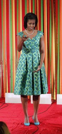 Glam Life.... 1st Lady Michelle Obama....