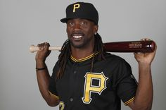 Andrew McCutchen on the Pirates, football and where he came from - Fort Meade, Fl. Fort Meade, National League, Pirates, Captain Hat, Football, Soccer, Futbol, American Football, Soccer Ball