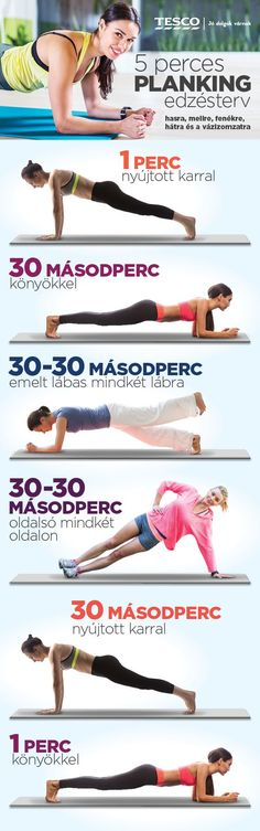 5 perces planking edzsésterv Fitness Workouts, At Home Workouts, Fitness Tips, Health Fitness, Do Exercise, Excercise, Receding Gums, Reduce Cellulite, Sports Training