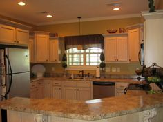 open floor plan country kitchen | Open Floor Plan, Open floor plan kitchen, dining, and living room. I ...