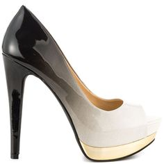 Sachaa - Wht Blk Ombre Pat by Jessica Simpson