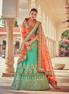pastel shades lehenga cholis for girls