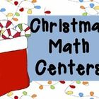 Math Centers for Christmas!Print out slides 4-23 and plenty of slide 25. Place at a center. Student match the correct number of candies as the num...