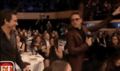 Robert Downey jr at Howard Stern's party - From ET