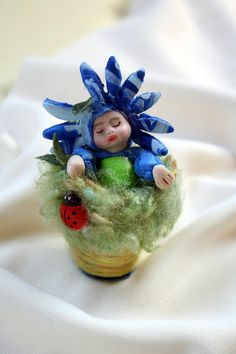 Baby in a Flower Pot Gift Baby Gift Spring Baby in a Flower