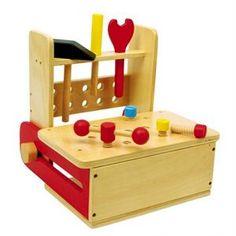 BRICOLAGE - ÉTABLI Etabli en bois pour enfants avec outils