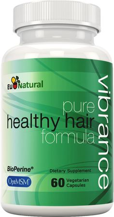 Vibrance Pure Hair Vitamins is a supplement for hair growth that contains a rich abundance of vitamins, minerals, and herbs. Think of it as taking a multivitamin for your hair. Each pill is packed with 37 vitamins, minerals, and herbs that strengthen your hair from the inside. The nourishing ingredients support the growth of thicker, longer, and more vibrant hair. The result? Gorgeous, healthy hair, each and every day.