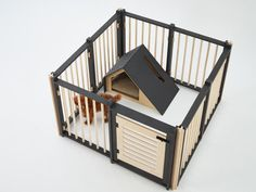 Galeria de Bad Marlon lança linha de casas de cachorro minimalistas - 3