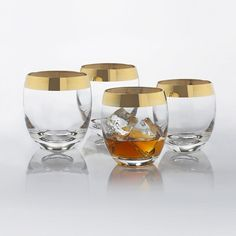 Fifth Avenue Whiskey Glasses - Set of 4 | dotandbo.com