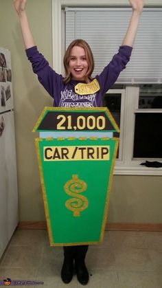 The Price is Right Showcase Showdown Contestant - 2015 Halloween Costume Contest via @costume_works
